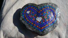 Piedras de Erks  con piedras corazón encontradas en el rio Calabalumba - Capilla del Monte - Córdoba - Argentina