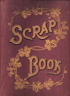Victorian Clip Art - Scrap Book Cover - The Graphics Fairy