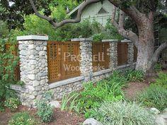 Unique Custom Fence in Pasadena