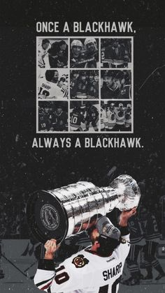 One a Blackhawk, *always* a Blackhawk.