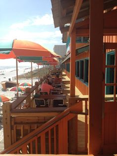 The Back Porch, Destin, FL; beautiful beach and wonderful food....been here