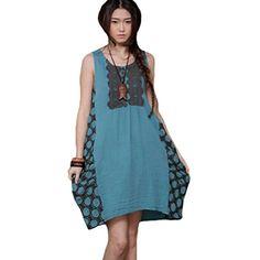 Minibee Summer Sundress Sleeveless Dress Irregular Dress Sky Blue Minibee http://www.amazon.com/dp/B00XWZ7Z7Q/ref=cm_sw_r_pi_dp_7l3Fvb15YZ55A