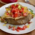 Loaded Crock Pot Baked Potatoes