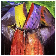 Color: complementary colors  Blood's on the River Now by Jim Dine
