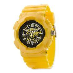 Unisex Designer's Striker Yellow Watch Jewelry Adviser Watches. $40.00