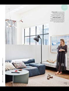 Side table detail. Real living magazine Jan 2017