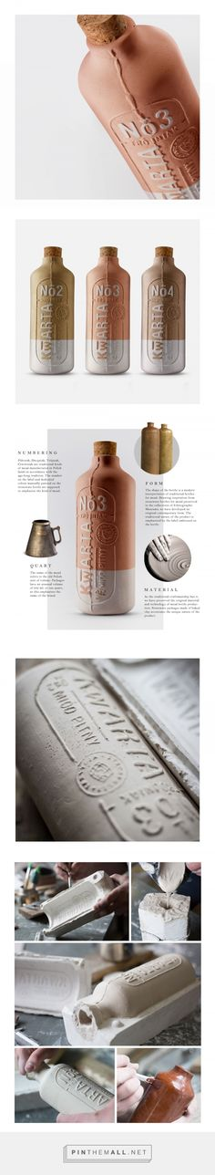 Kwarta mead packaging design by OPUS B - http://www.packagingoftheworld.com/2017/09/kwarta.html