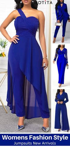 Jumpsuits&Rompers online for sale Curvy Girl Outfits, Summer Fashion Outfits, Chic Outfits, Style Fashion, African Fashion Dresses, African Dress, Jumpsuit Outfit, Jumpsuits For Women, Dress Patterns