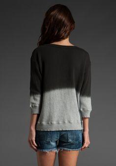 Fleece Dipped Shrunken Sweatshirt