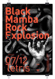BLACK MAMBA ROCK EXPLOSION ➝ live at Tetris