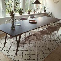 Bygg ett eget köksbord!! Ben från Hay. Ytbehandling: Osmo. Matta och stolar från…