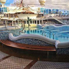 Princess Cruise Grand Princess pool. by Tom Bricker, via Flickr