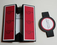 Carolyn's Paper Fantasies: Graduation Box Card - Gift Idea - but for any occasion really!