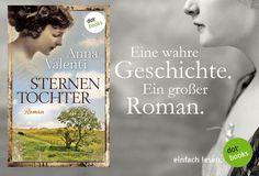 Der Auftakt einer großen vierteiligen Saga um eine starke Frau und ihr Schicksal: Die Geschichte der Caroline Caspari beruht auf einer wahren Begebenheit. Anna Valenti hat dieses Buch den vielen unbekannten Frauen gewidmet, die es schon im 19. Jahrhundert wagten, sich zu emanzipieren. Wenn ihr mehr über STERNENTOCHTER von Anna Valenti erfahren möchtet, steht hier eine kostenlose XXL-Leseprobe zum Download für euch bereit: http://www.dotbooks.de/e-book/262365/xxl-leseprobe-sternentochter