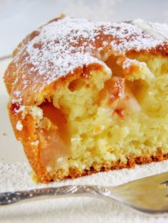 Apple Cake Recipes, Dessert Recipes, Polish Recipes, Pumpkin Cheesecake, Food Cakes, Apple Pie, Food And Drink, Sweets, Dishes