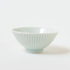 艸茅窯 細しのぎ飯碗 ¥4536-