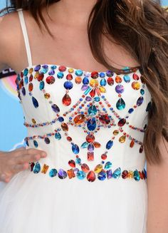 Actress Ryan Newman (fashion detail) attends the Teen Choice Awards 2013 at Gibson Amphitheatre on August 11, 2013 in Universal City, California.