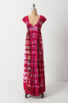 Rose Madder Maxi Dress - Anthropologie.com