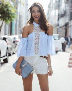 Listras,  uma super tendência,  arrasando na #coinageoficial #moda#fashion#tendencia#listras#instagram#instagood