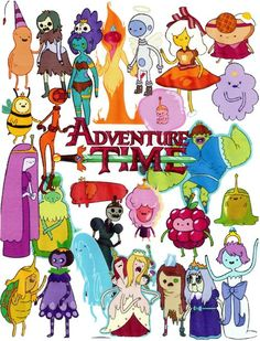 Where's Flame Princess?!?! And why does Muscle Princess look so weird?