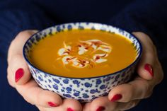Roasted Thai Carrot and Sweet Potato Soup
