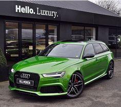 Java Green Audi RS6 Avant
