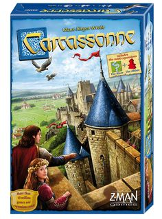 Amazon.com: Carcassonne Board Game: Toys & Games
