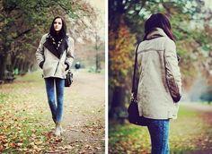 Get this jacket on @Wheretoget or see more #jacket #shearling_jacket #leather_jacket #oversized_jacket #bellevior.com