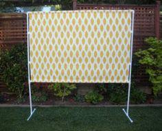 PVC Frame. Photoshoot backdrop, sign holder, coat rack, temporary wall divider