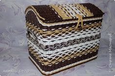 Поделка изделие Плетение Мне исполнилось 3 года    Трубочки бумажные фото 2