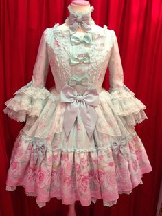 angelic pretty, romantic rose letter