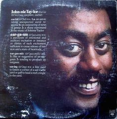 Johnnie Taylor - Eargasm (1976) Columbia. Great album which features the best of the best.