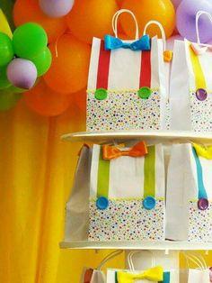 Bolsa cumpleaños circo