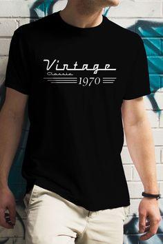 King Birthday, 50th Birthday, Birthday Shirts, Cool Shirts, Party Ideas, Classic, Funny, Mens Tops, T Shirt
