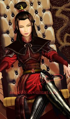 Azula is a spoiled brat by ~Aries888 on deviantART
