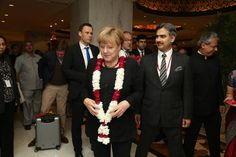 We were privileged to host #AngelaMerkel for the third time in a row at the Grand Presidential Suite. #tajmahalhotel #tajhotel #luxury