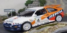 Bank Utama Rally Indonesia 1996 Ford Escort RS Cosworth Sainz/Moya 1/43