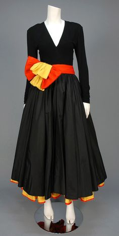 1980s gown