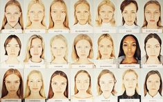 Au Naturel: at the Alexander Wang show, the models wore NO MAKEUP... and I don't mean a natural, bare look that took a professional makeup artist two hours to perfect, but really truly no makeup.