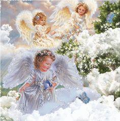 Glitter Graphics Angels | Angeli Glitter » Angeli animate glitter grafica immagini angioletti ...