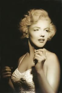 Beautiful Marilyn Portrait Poster 24in x 36in Free Shipping