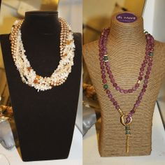 "Collares de ""di More"" en POP UP Chic"