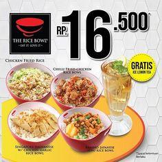 rice bowl menu - Penelusuran Google Chicken Rice Bowls, Fried Chicken, Fried Rice, Tofu, Fries, Garlic, Women's Fashion, Eat, Google