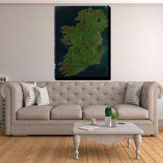 ☘️ Ireland Canvas Print Wall Art ☘️ Wall Art Prints, Canvas Prints, Beautiful One, Love Seat, Ireland, Display, Irish, Scale, Pictures