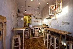 La pizzeria 'slow' di via San Mamolo gestita da Memoryman aka Uovo