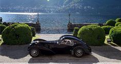 Ralph Lauren's one of a kind $40M Bugatti.