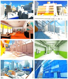 some of the best game environment designs #mirrorsedge