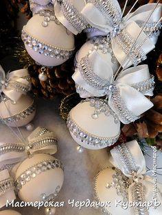 Новогодние шары. МК (по просьбам) | Страна Мастеров