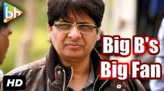"""""""I  Am Biggest Fan Of Amitabh Bachchan"""": Vashu Bhagnani"""