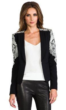 BCBGMAXAZRIA Abram Jacket in Black | REVOLVE